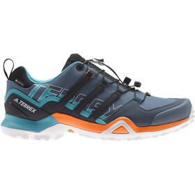 adidas TERREX Swift R2 Gore-Tex Wandelschoenen Heren, legacy blue/core black/signal orange
